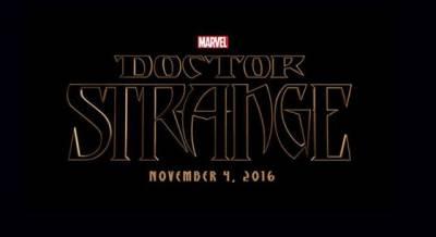 Doctor Strange: prima immagine di Cumberbatch sul set