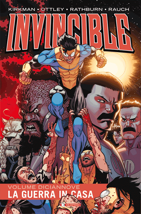 "Disponibile ""La guerra in casa"" 19° volume di Invincible"