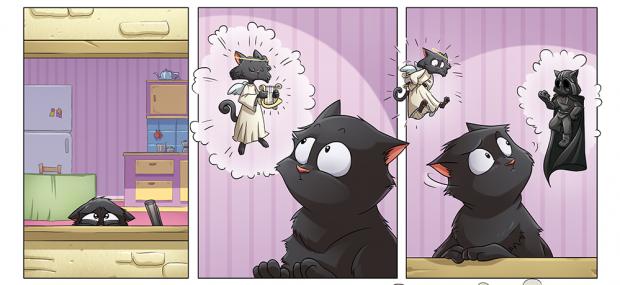 Norby: di gatti, paladini e lasagne