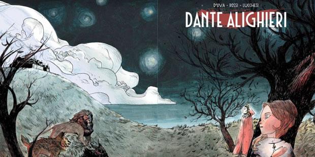 Alessio D'Uva sull'adattamento a fumetti di Dante