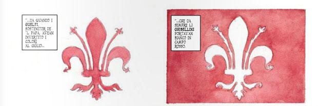 Guelfi e ghibellini a fumetti: Farinata di Tarantino