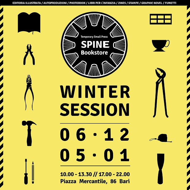 Spine Temporary Store Winter