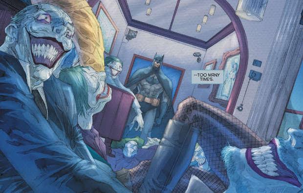 Batman: Europa #1 (Azzarello, Casali, Camuncoli, Lee)