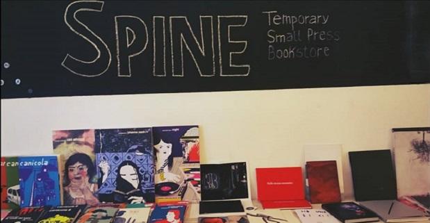 Spine Temporary Small Press Bookstore a Bari dal 6 dicembre al 5 gennaio