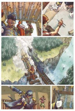 Il grande arrembaggio al treno di Steam Pirates' Railroads