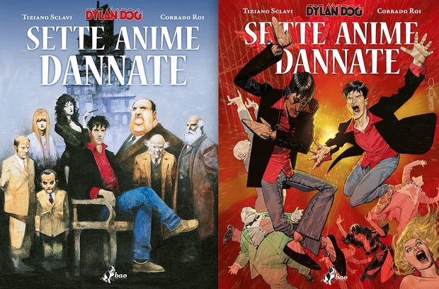 Dylan Dog Sette anime dannate - cover