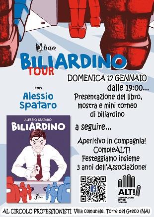 ALT presenta: Alessio Spataro e Biliardino a Torre del Greco