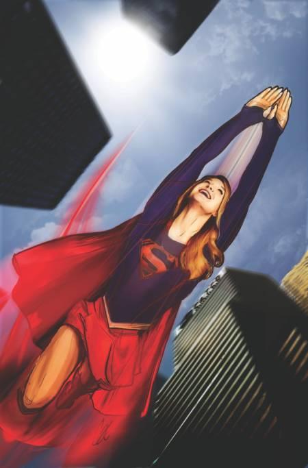 Adventures of Supergirl: diffusa cover ufficiale primo numero