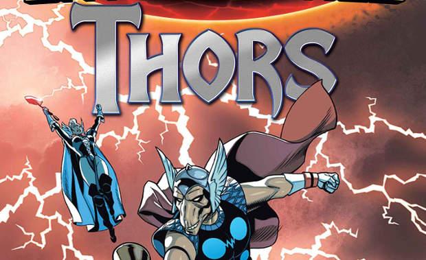 Thor presenta Thors #1 (Aaron, Ewing, Sprouse, Garbett)