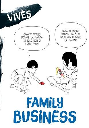 Family Business di Bastien Vivès in uscita in libreria