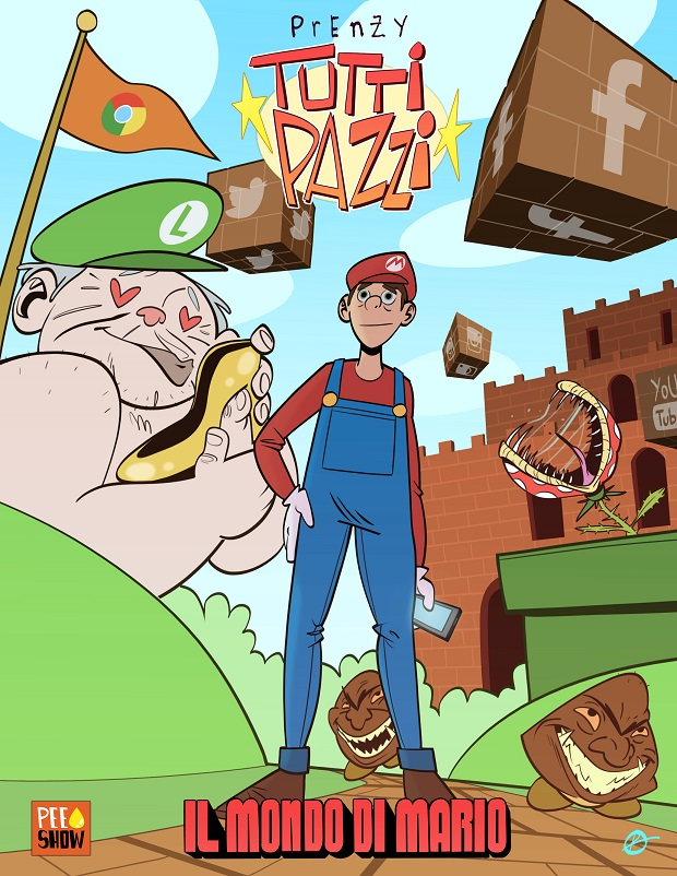 """""""Tutti Pazzi"""": arriva il nuovo fumetto di """"Prenzy"""""""