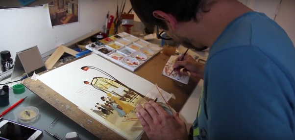 Manuele Fior racconta Le variazioni d'Orsay
