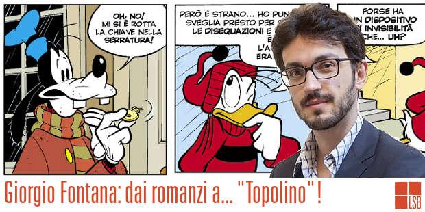 Dai romanzi ai fumetti: intervista a Giorgio Fontana