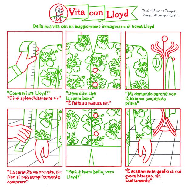 """Una mostra dedicata a """"Vita con Lloyd""""_Notizie"""