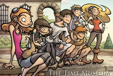 "Graphic novel ""The Time Museum"" sul grande schermo"