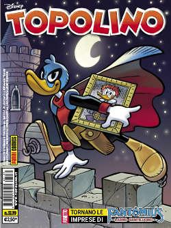 La notte di luce - Topolino #3139 (Panaro, Held, Gervasio)
