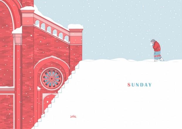 Sunday: l'omaggio di Delebile alle tavole domenicali