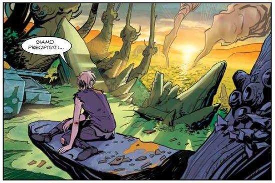 Orfani: Nuovo Mondo #4 – Benvenuto nella giungla (AA.VV)