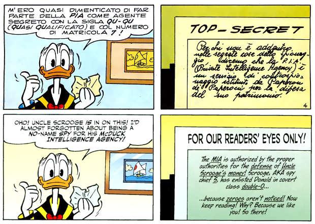 Arriva Zantaf - Donald Duck #9 (Chendi, Bottaro)