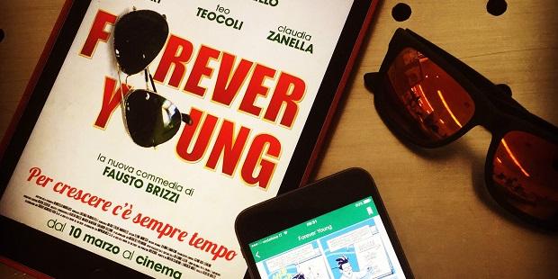 Forever Young di Fausto Brizzi su Verticomics solo per oggi