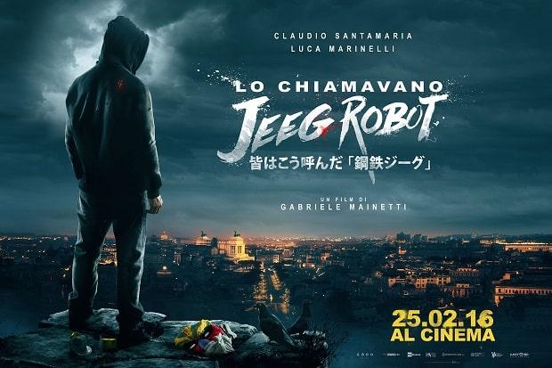 Lo chiamavano Jeeg Robot: 16 candidature ai David di Donatello