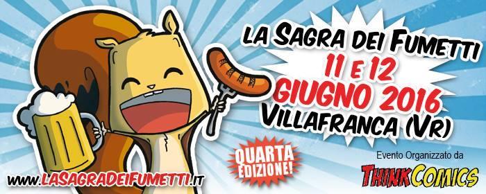 Verona: Sagra dei Fumetti 2016 - Anticipazioni