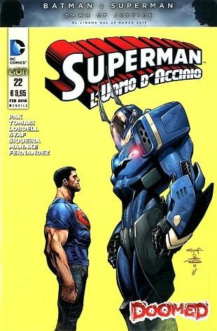 Superman 22 Copertina