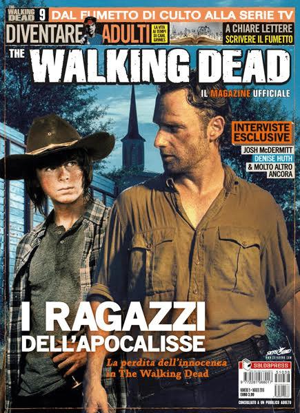 Giovedì esce il numero 9 di The Walking Dead magazine