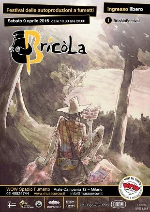 Bricòla: Festival delle autoproduzioni al Museo del Fumetto