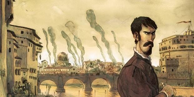 Benvenuto Cellini: l'autobiografia diventa un fumetto per Kleiner Flug