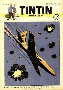 Copertina Tintin 1946-10