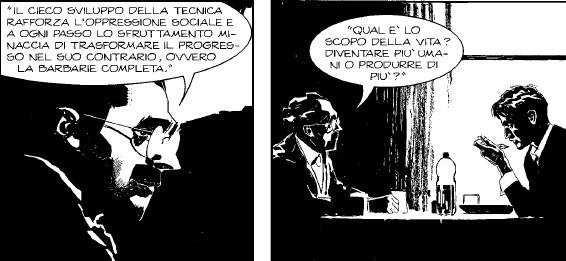 Dylan Dog #356 - La macchina umana: working class hero
