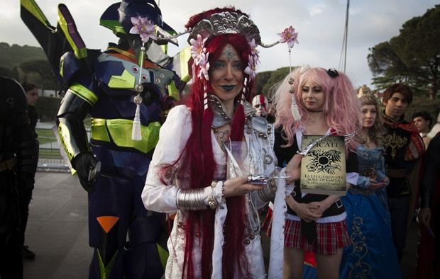 A Napoli Comicon 2016 la festa del Cosplay