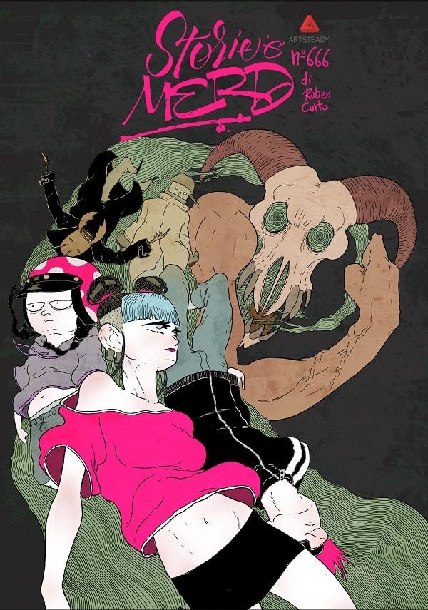 """""""Storie e merd"""" #3 di Ruben Curto al Napoli Comicon 2016"""