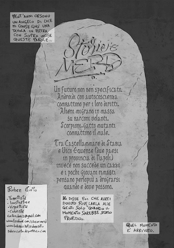 """""""Storie e merd"""" #3 di Ruben Curto al Napoli Comicon 2016_Notizie"""