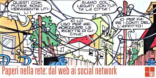 Paperi nella rete e il compleanno di Internet