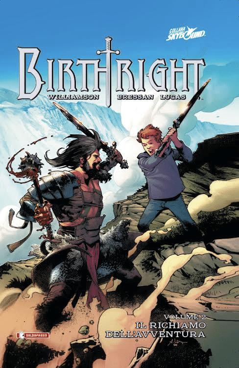 E' disponibile il secondo volume di Birthright
