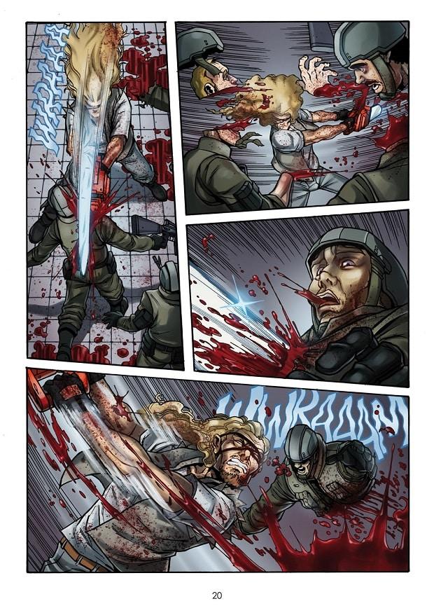 Shockdom pubblica The Chainsaw Undead