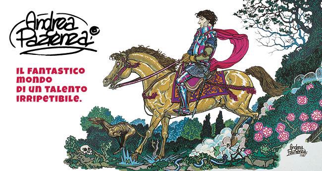 Le opere di Andrea Pazienza con Repubblica e L'Espresso