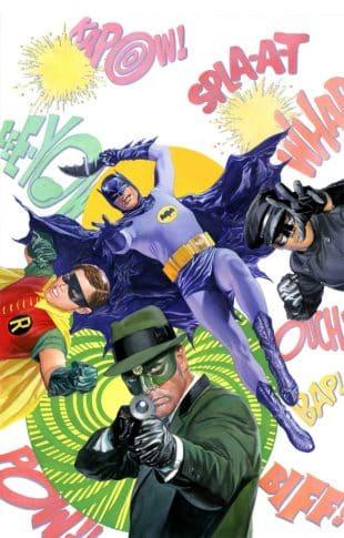 Batman '66 Green Hornet: telefilm (passati) su carta