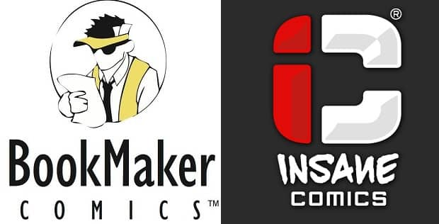 BookMaker Comics porta in Italia Insane Comics