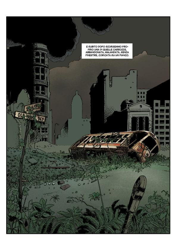Nyarlathotep: adattamento in immagini sul confine del fumetto
