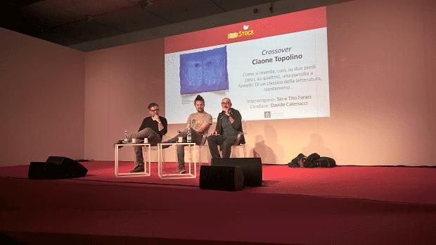 Letteratura a fumetti:  Tito Faraci e Sio al Salone del Libro