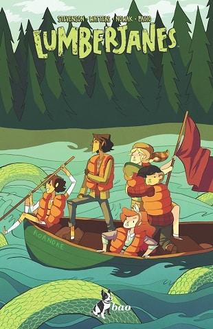 E' disponibile il terzo volume di Lumberjanes