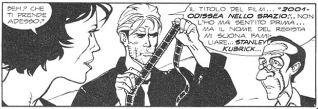 Monolito nero - NN 2 pg 22 II vignetta da alto