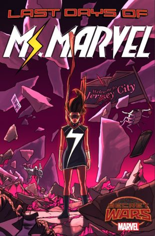 Ms Marvel Last Days Cover