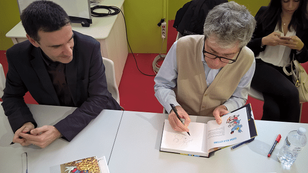 Sessione firme Comics&Science