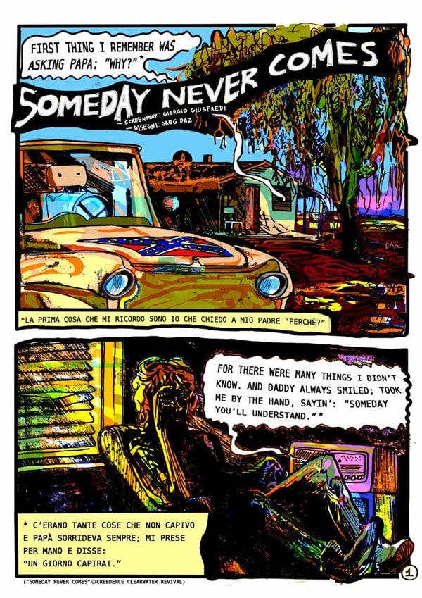 Someday never comes (Giorgio Giusfredi, Greg Daz)
