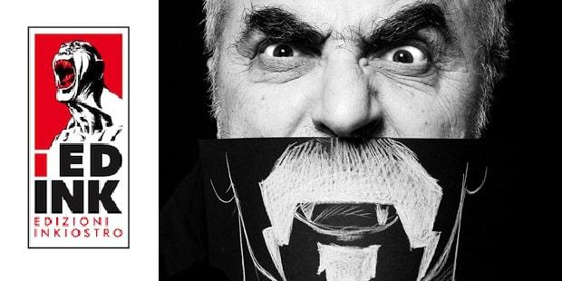 Tanino Liberatore al lavoro su The Cannibal Family (Ed. Inkiostro)