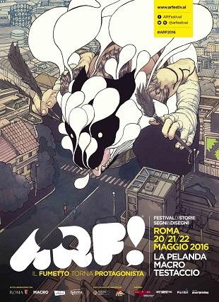 La seconda edizione di ARF!, Festival di storie, segni e disegni